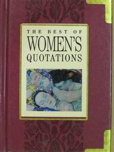 Eleanor Roosevelt - The Best of Women's Quotations [antikvár]