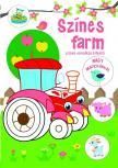 Szalay Könyvkiadó - Színes farm - színes vonalkás kifestő nagy matricákkal