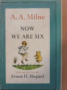 A. A. Milne - Now We Are Six [antikvár]