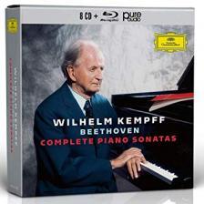 BEETHOVEN - COMPLETE PIANO SONATAS 8CD+BLU-RAY WILHELM KEMPFF
