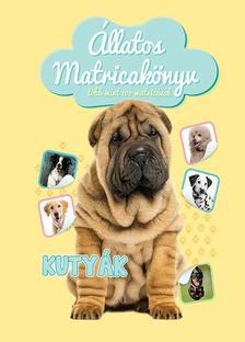 Állatos matricakönyv - Kutyák