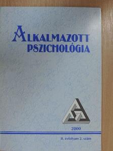 Antalovits Miklós - Alkalmazott Pszichológia 2000/2. [antikvár]