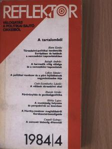 Ágh Attila - Reflektor 1984/4. [antikvár]