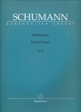 Schumann, Robert - WALDSZENEN OP.82 FÜR KLAVIER URTEXT (HOLGER M. STÜWE / RAGNA SCHIRMER)