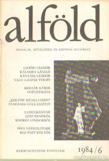 Juhász Béla - Alföld 1984/6. [antikvár]