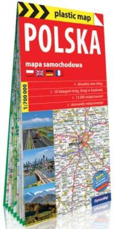 Expressmap - Lengyelország térkép (Expressmap) 2019 zsugoros