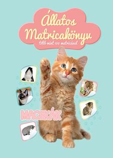Állatos matricakönyv - Macskák