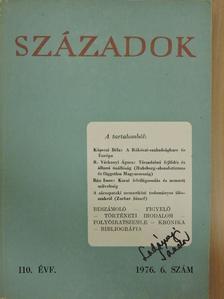 Bán Imre - Századok 1976/6. [antikvár]