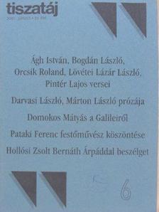 Ágh István - Tiszatáj 2001. június [antikvár]