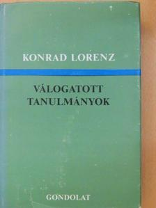 Konrad Lorenz - Válogatott tanulmányok [antikvár]
