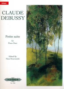 CLAUDE DEBUSSY - PETITE SUITE FOR PIANO DUET URTEXT EDITED BY HANS SWARSENSKI