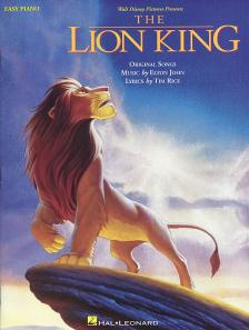 John, Elton - THE LION KING. ORIGINAL SONGS EASY PIANO