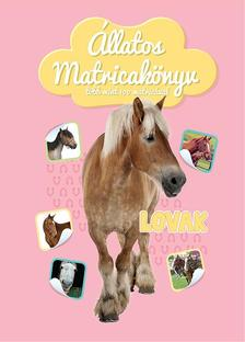 Állatos matricakönyv - Lovak