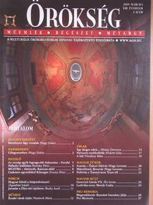 Ágostházi László - Örökség 2009. március [antikvár]