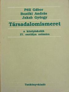 Bozóki András - Társadalomismeret IV. [antikvár]
