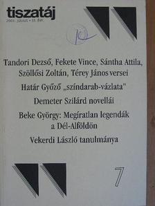 Beke György - Tiszatáj 2001. július [antikvár]