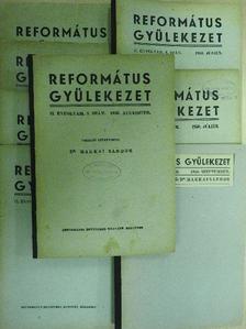 Barth Károly - Református gyülekezet 1950. (nem teljes évfolyam) [antikvár]