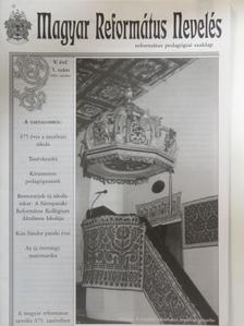 Bay László - Magyar Református Nevelés 2004. október [antikvár]