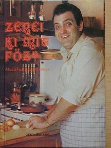 Antal Imre - Zenei ki mit főz? [antikvár]