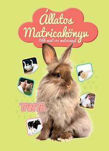 Állatos matricakönyv - Tanya