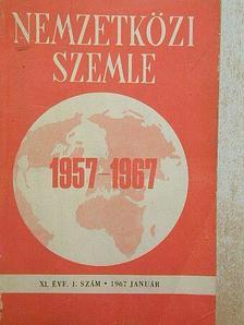 J. Troickij - Nemzetközi Szemle 1967. január [antikvár]