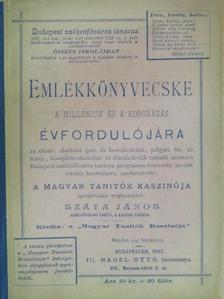 Móra István - Emlékkönyvecske a millénium és a koronázás évfordulójára [antikvár]