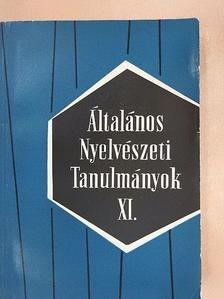 Antal László - Általános Nyelvészeti Tanulmányok XI. [antikvár]