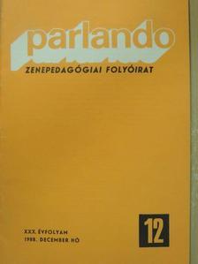 Bálint József - Parlando 1988. december [antikvár]
