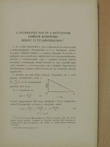 Fejér Lipót - Matematikai és Fizikai Lapok 1934. január-június [antikvár]