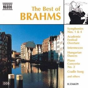 BRAHMS... - THE BEST OF BRAHMS - SYMPHONIES NO.1,4, HUNGARIAN DANCES CD