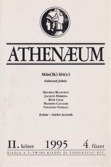 Bacsó Béla - Athenaeum 1995 II/4 [antikvár]