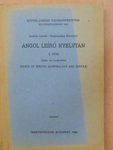 András László - Angol leíró nyelvtan II. [antikvár]