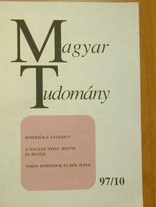 Ádám József - Magyar Tudomány 1997. október [antikvár]