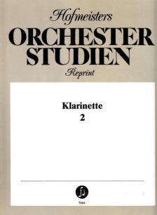 HOFMEISTERS ORCHESTER STUDIEN FÜR KLARINETTE 2(HEYNECK/SCHREINICKE/ROSCHER)