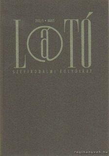 KOVÁCS ANDRÁS FERENC - Látó 2001/5. május [antikvár]