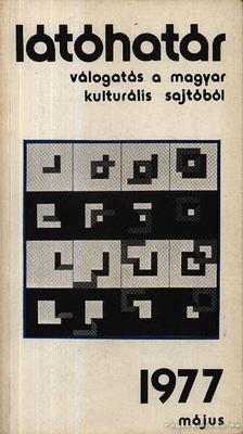 Szabolcsi Miklós - Látóhatár 1977 Május [antikvár]