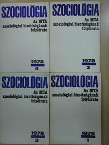 Andorka Rudolf - Szociológia 1978/1-4. [antikvár]