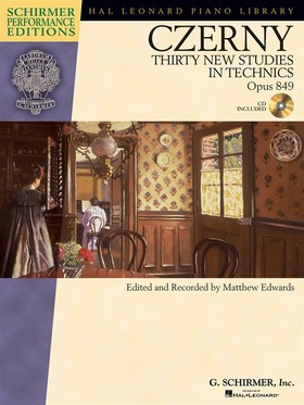 CZERNY - THIRTY NEW STUDIES IN TECHNICS OP. 849 + CD