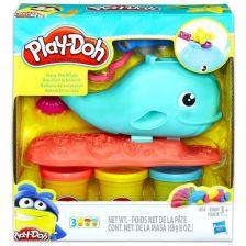 .- - Play-Doh Wavy, a bálna gyurma szett