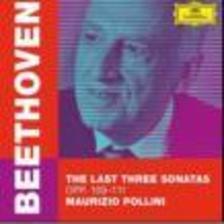 BEETHOVEN - BEETHOVEN: LAST SONATAS/POLLINI - CD