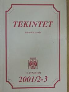 Alföldy Jenő - Tekintet 2001/2-3 [antikvár]