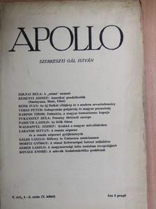 Kardos Tibor - Apollo 1939/1-2. [antikvár]