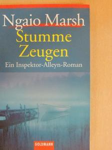 Ngaio Marsh - Stumme Zeugen [antikvár]