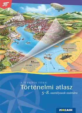 HORVÁTH ANDREA - HORVÁTH LEVENTE - MS-4115U Történelmi atlasz 5-8.o.