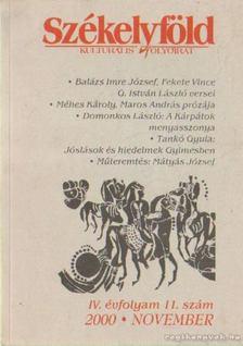 Ferenczes István - Székelyföld 2000. 11. szám [antikvár]