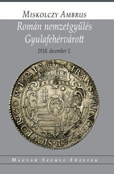 Miskolczy Ambrus - Román nemzetgyűlés Gyulafehérvárott 1918. december 1.