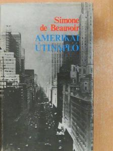 Simone de Beauvoir - Amerikai útinapló [antikvár]