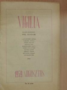 Beney Zsuzsa - Vigilia 1959. augusztus [antikvár]