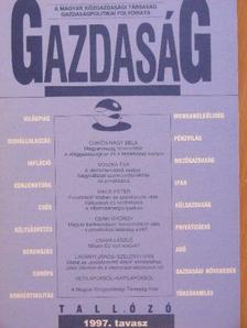 Árva László - Gazdaság 1997. tavasz [antikvár]