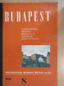 Aczél Tamás - Budapest 1946. augusztus [antikvár]